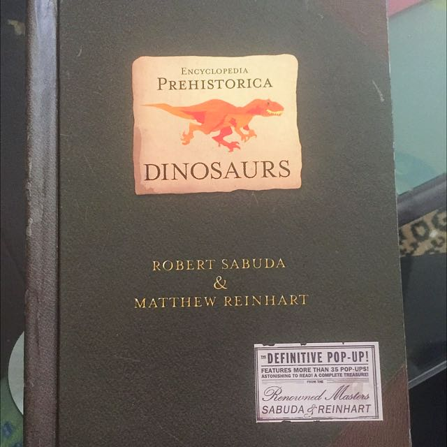 Prehistorica dinosaurs Pop-up book