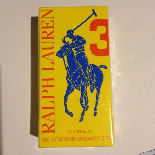 Ralphe Lauren 3 For Women EDT Spray 50ml