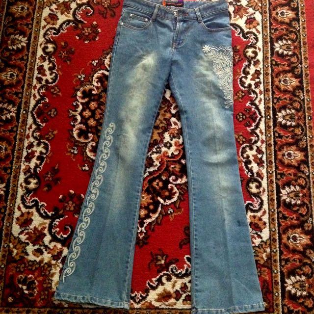 Sean Bag Long Jeans - Boot cut