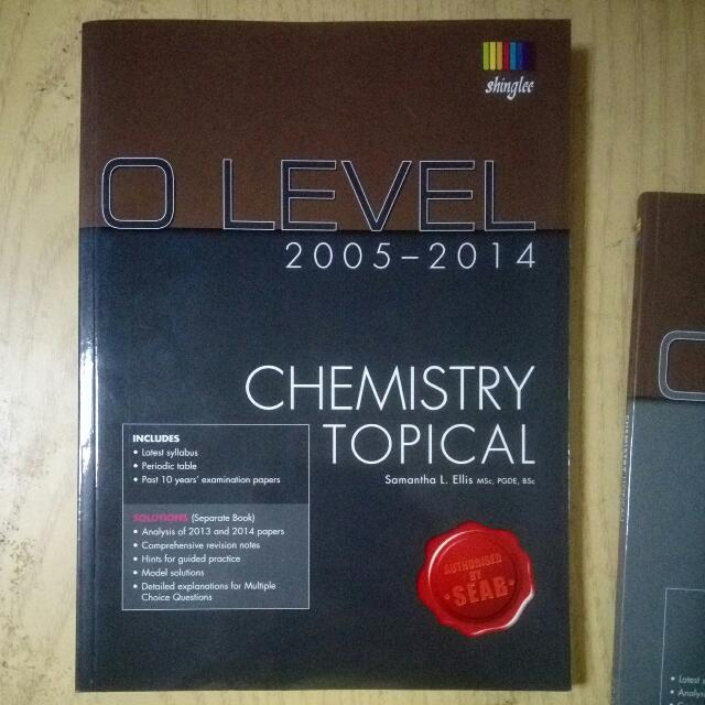 O level topical chemistry past year examination papers 2005 2014 by photo photo photo photo photo fandeluxe Image collections