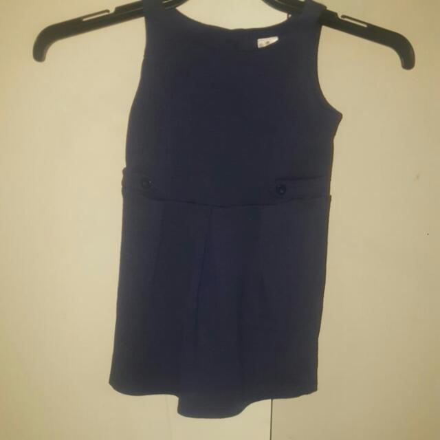Size3 NAVY Girls DrESs