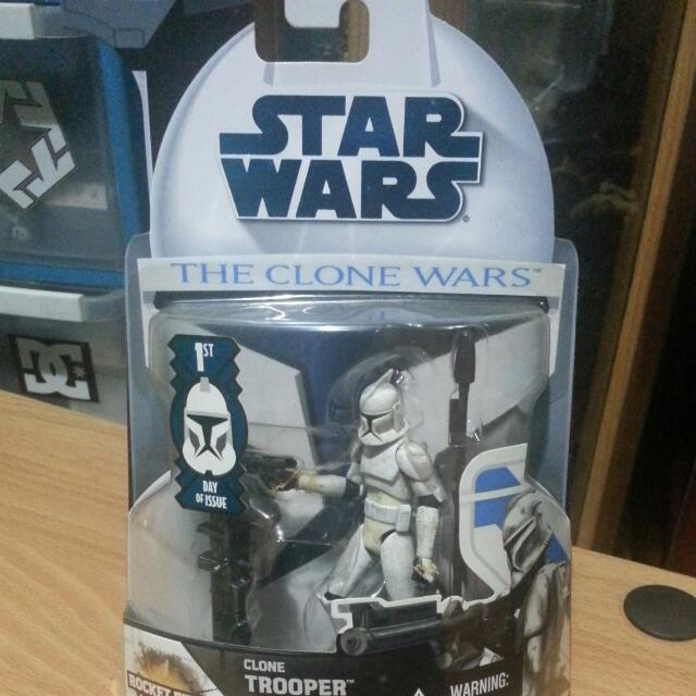 Star Wars Clone Trooper Action Figure