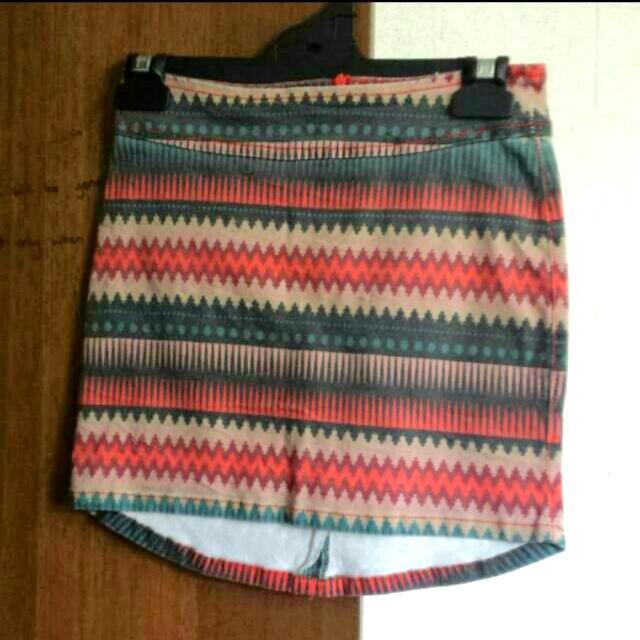 Surf Stitch Aztec Skirt