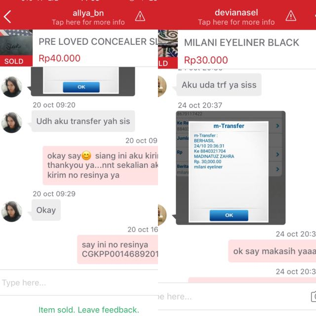 Testimonial From Buyer❤️