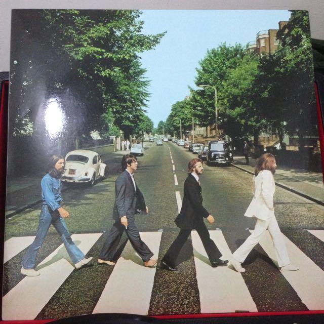 The Beatles Abby Road 披頭四 黑膠 唱片