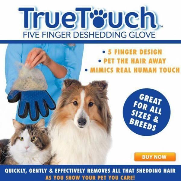 TureTouch 神奇寵物按摩除毛手套 毛髮清潔整理手套 福美家FURminator 寵物按摩手套 梳毛手套