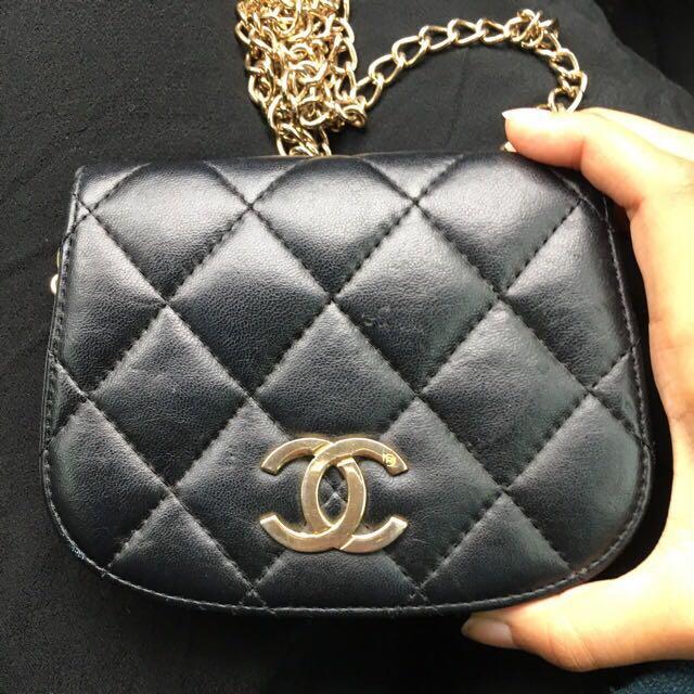 Vintage Authentic Chanel Bag