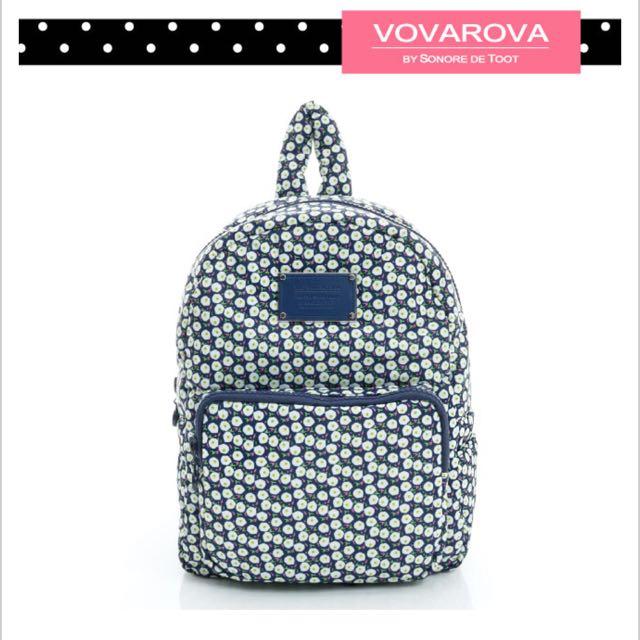 VOVAROVA。法國設計系列-含苞蛋放。寶貝後背包
