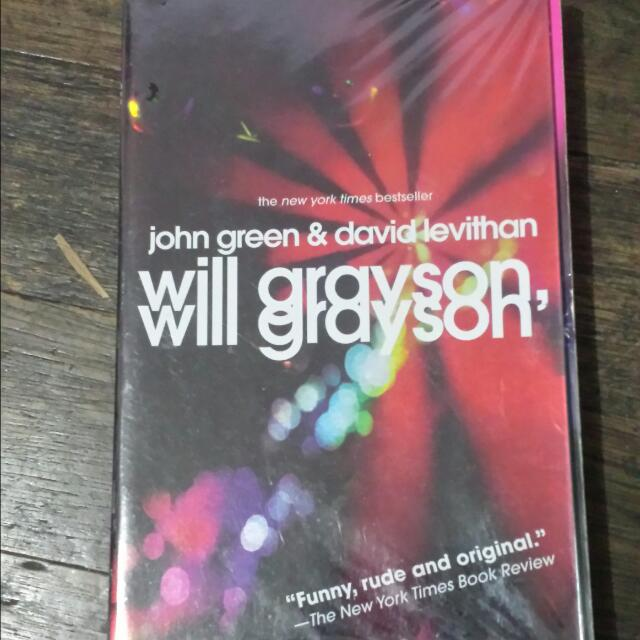 WILL GRAYSON, WILL GRAYSON BY JOHN GREEN & DAVID LEVIATHAN