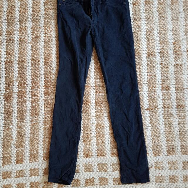 Zara Basics Corduroy Jeans 6-8