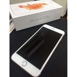 售iPhone6s Plus 64g 玫瑰金