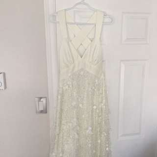 Sequined Wedding gown  (NWOT)