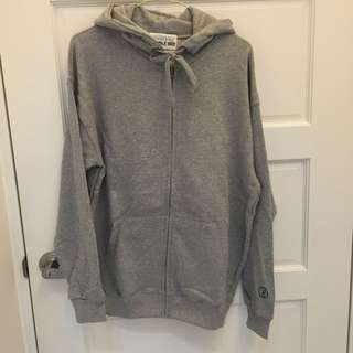 韓國 灰色 素色 外套
