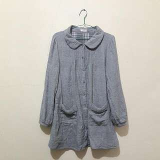 GREY Long TOP (ALL Size)