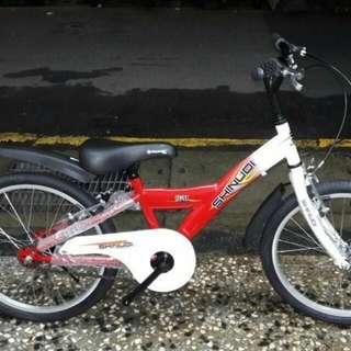 全新 20吋 兒童腳踏車 特價2000元(原價2500)