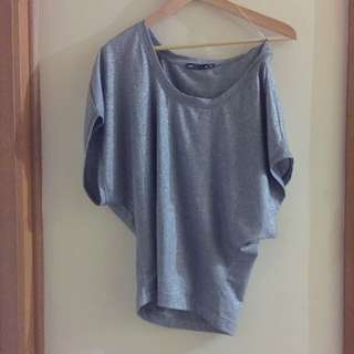 New DOTTI Off The Shoulder Baggy Top