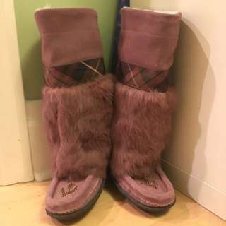 Muks Moccasin Boots