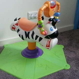 FREE Fisher Price Toddler Bouncer