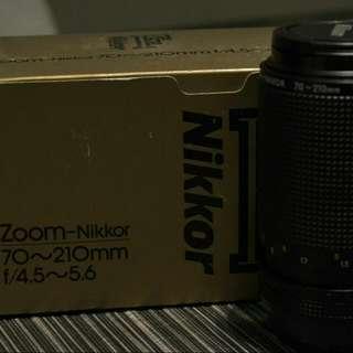 Nikkor Lens 70~210mm