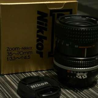 Nikkor Lens 35~70mm