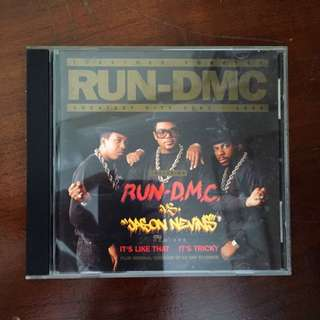 Run DMC Greatest Hits CD