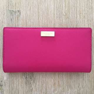 Kate Spade Stacy Hot Pink/ Magenta Wallet