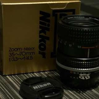 Nikkor Lense 35~70mm