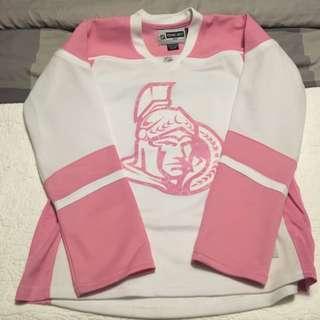Pink Ottawa Senators Jersey