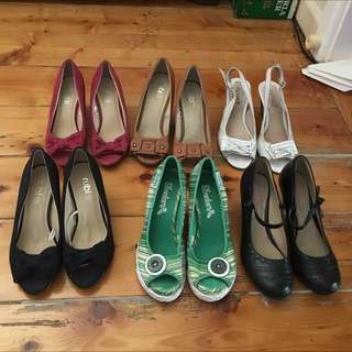 6 High Heels Shoes