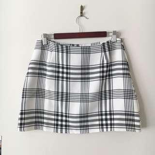Tartan Checkered Mini Skirt
