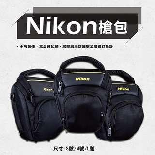 全新現貨-小兔@SIZE:M號(Medium) Nikon槍包 防水款 單眼 相機包 三角包 槍包 一機一鏡 微單眼 內附防雨罩 防塵罩 防潑水 D3100 D3200 D3300 D5100 D5200 D5300 D5500 D90 D7000 D7100 D7200等相機配18-55 ,18-105,18-200,50定焦等鏡頭適用