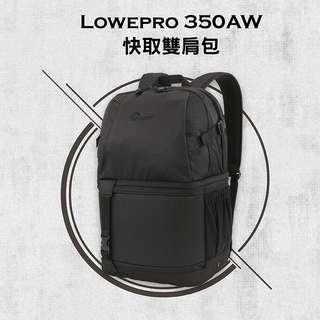 全新現貨-小兔@Lowepro 350 AW-多功能相機包 後背相機包 黑色 可放17吋筆電 相機包 單眼