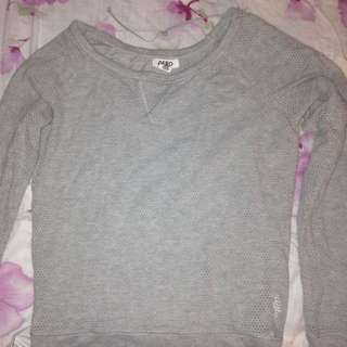 Aeropostale Grey Shirt