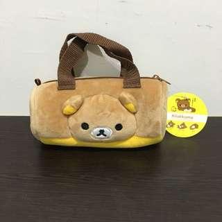 拉拉熊造型圓筒絨毛小提包🌟可換物💰購買可議價 保留