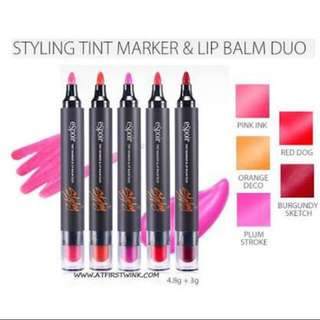 Espoir Tint Marker & Lip Balm Duo (Brand New)
