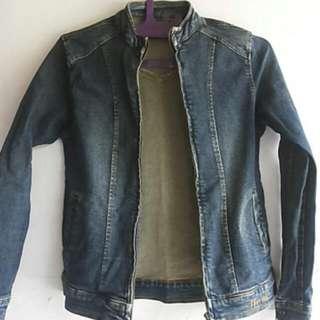 #yuksbarter Jaket Jeans
