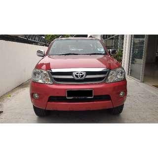 Kereta Sambung Bayar Toyota Fortuner 2.7D (A)