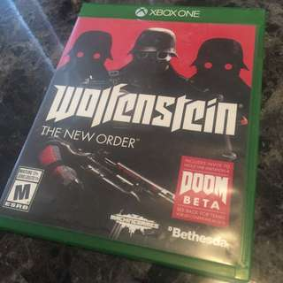 Xbox One - Wolfenstein