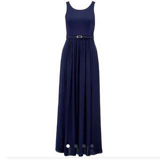 Forever New Formal Dress / Navy Blue