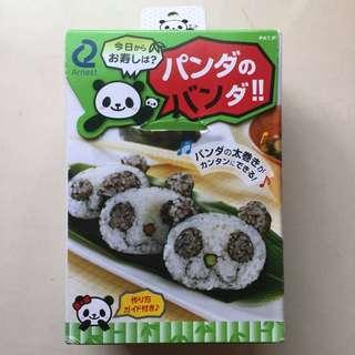 🚚 熊貓飯糰模型