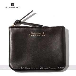 IN House* GIVENCHY 紀梵希香水專櫃贈品 立體五角星星化妝包手機袋證件零錢收納包 黑 (特價)