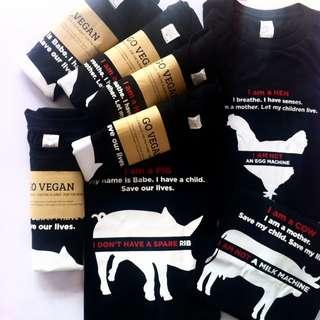 Vegan Statement Shirts