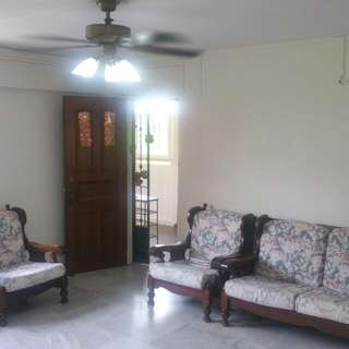 3 + 1  Blk 638 AMK Aircon, Furnished  Available Immediate  Asking S$ 2600