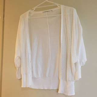 Country Road White Cardigan