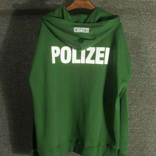 Vetements Polezei Jumper
