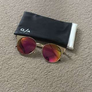 'Asha' 50mm Metal Sunglasses