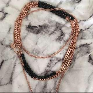 Mimco Checkmate Necklace