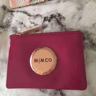 Mimco Schiaparelli Pink Pouch