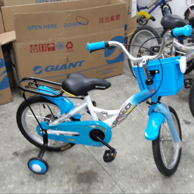 全新16吋 兒童腳踏車