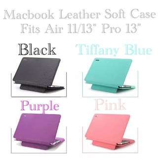 PO: Macbook Leather Soct Casing